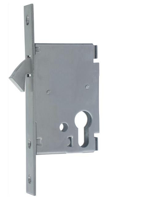 CL-SL-050-SSS - Euro Profile Sliding Hook Lock