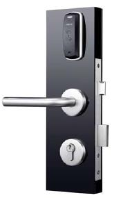 eU-13ER - Electronic Apartment Lock, Round Rose