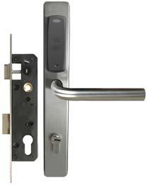 eU-13EB - Electronic Apartment Lock, Backplate