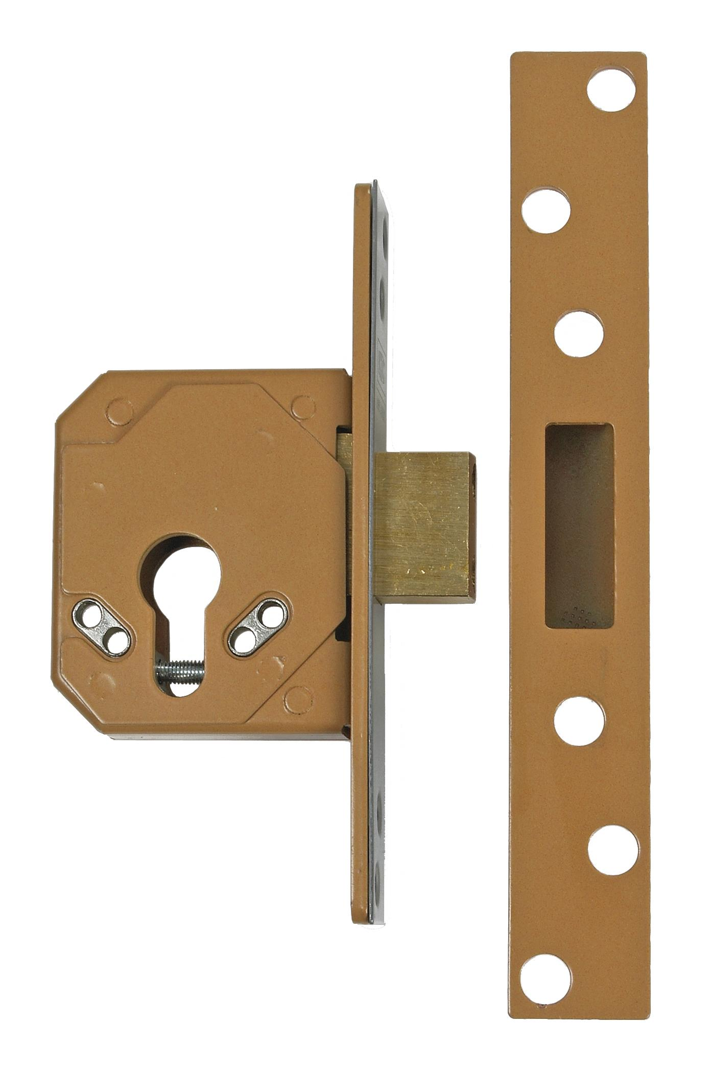 3C14 - Euro Profile Cylinder Mortice Deadlock (case only)