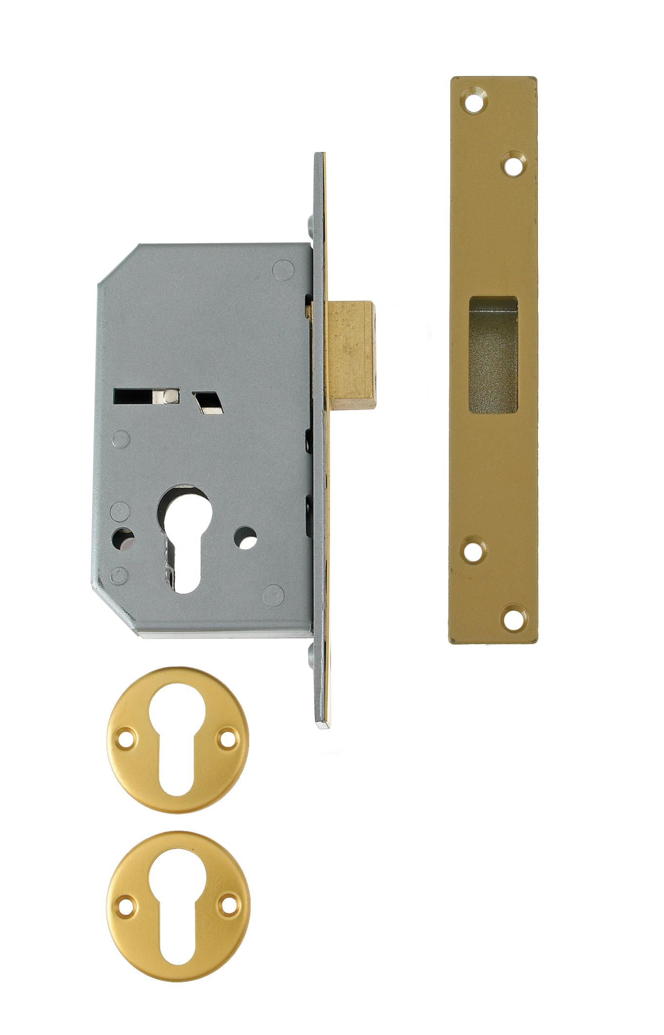 3C10 - Euro Profile Cylinder Mortice Deadlock (case only)