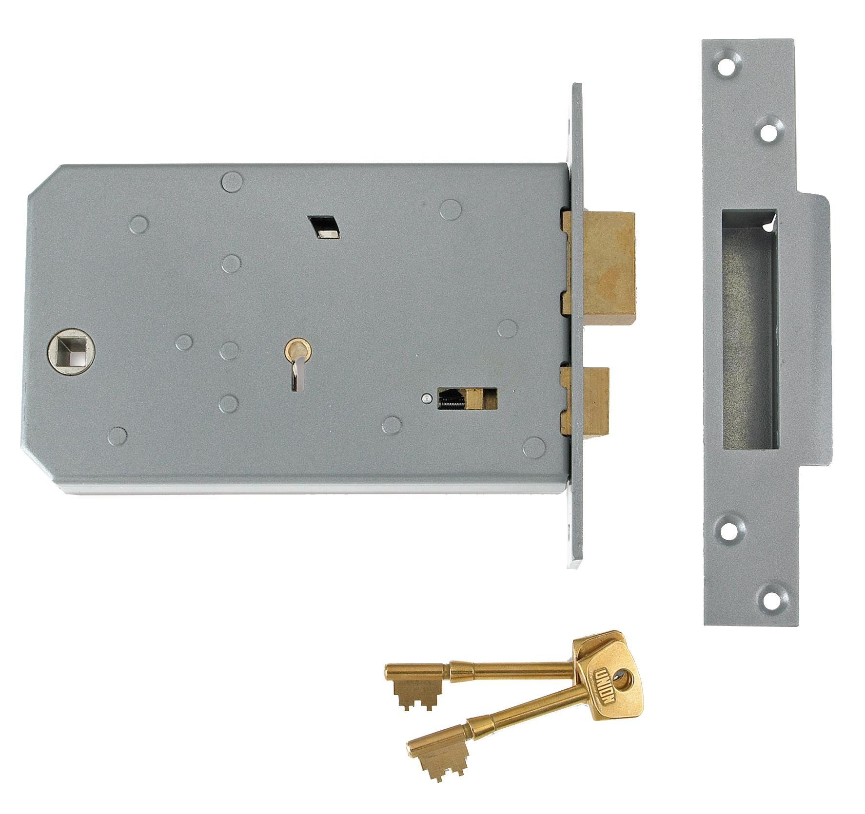 3J60 - 5 Detainer Horizontal Mortice Sashlock