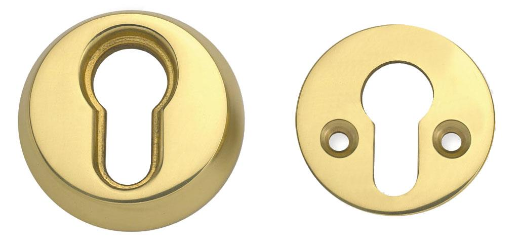 53053 - High Security Euro Profile Cylinder Rose
