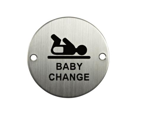 S-BC-76D - Signage - Baby Change