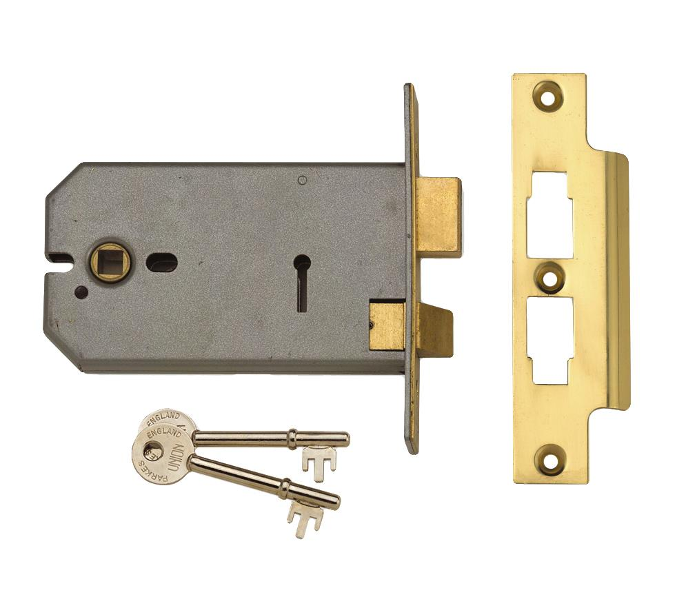 2077-152 - 3 Lever Horizontal Mortice Lock