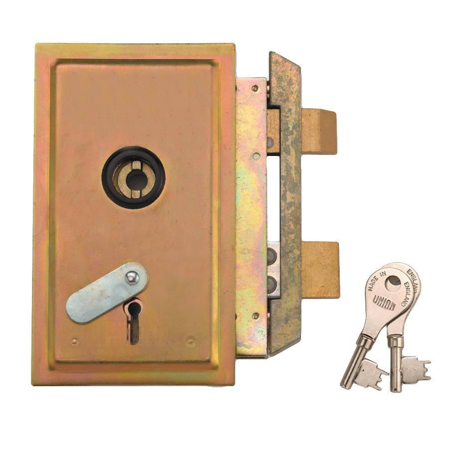 22511 / 22512 - 4 Lever Metal Casement Lock