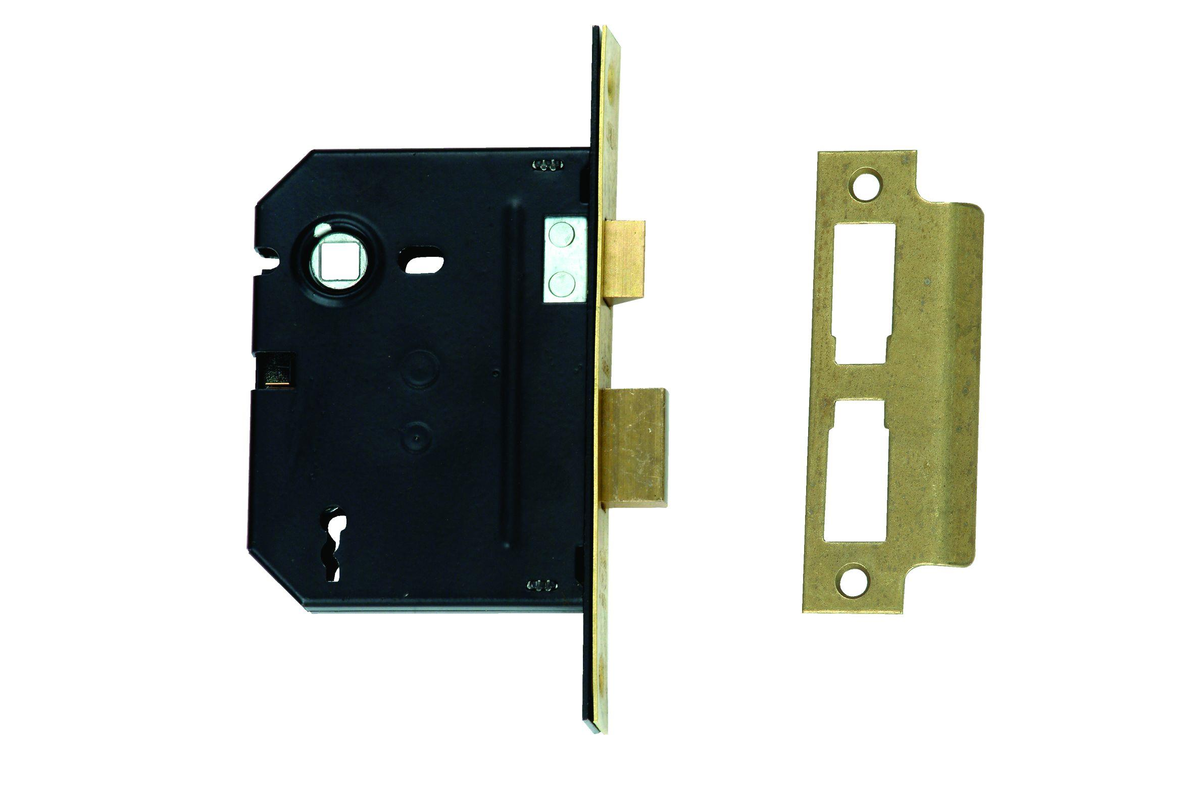 2252-76 - 3 Lever Upright Lock