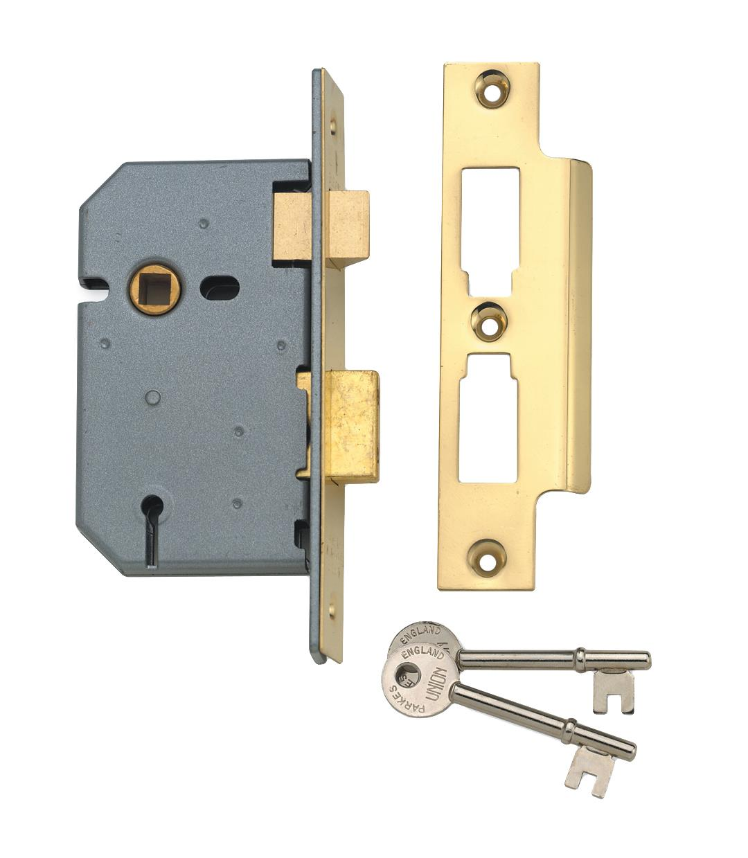 2277-64 / 2277-78 / 2277-103 - 3 Lever Upright Lock
