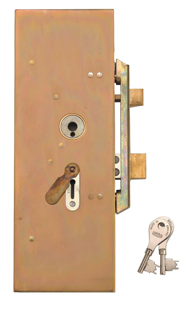 22931 / 22934 - 4 Lever Metal Casement Lock