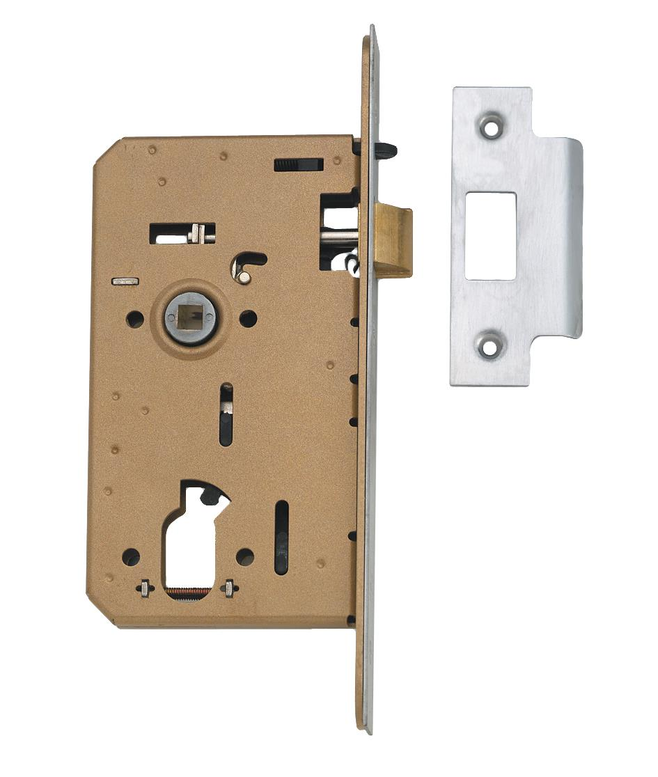 L23702 - Hotel Mortice Night Latch - Special Oval Profile
