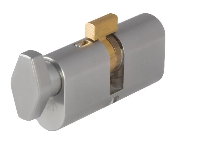CY-SP-OP-TK - Special Oval Profile Key & Turn Cylinder
