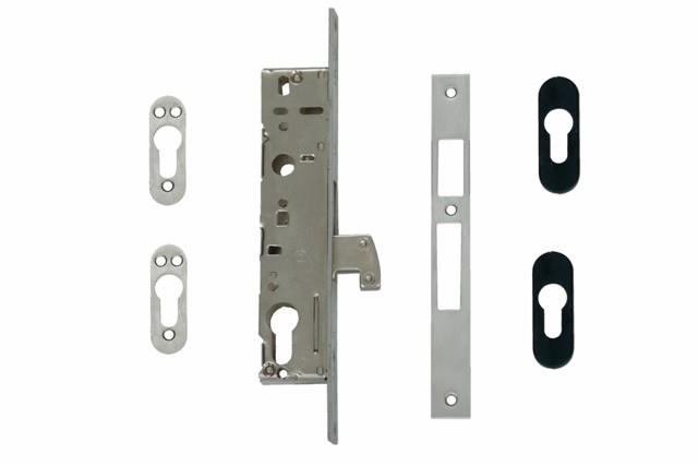 4211 - Narrow Stile Euro Profile Cylinder Swing Bolt Lock Case