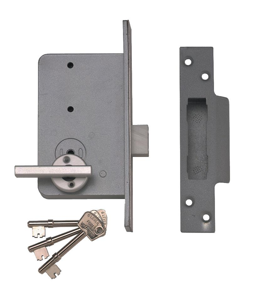 4K - Wellington Fort 6 Lever Deadlock
