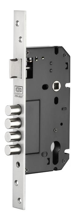 ML270 - Euro Profile Multi Bolt Mortice Lock
