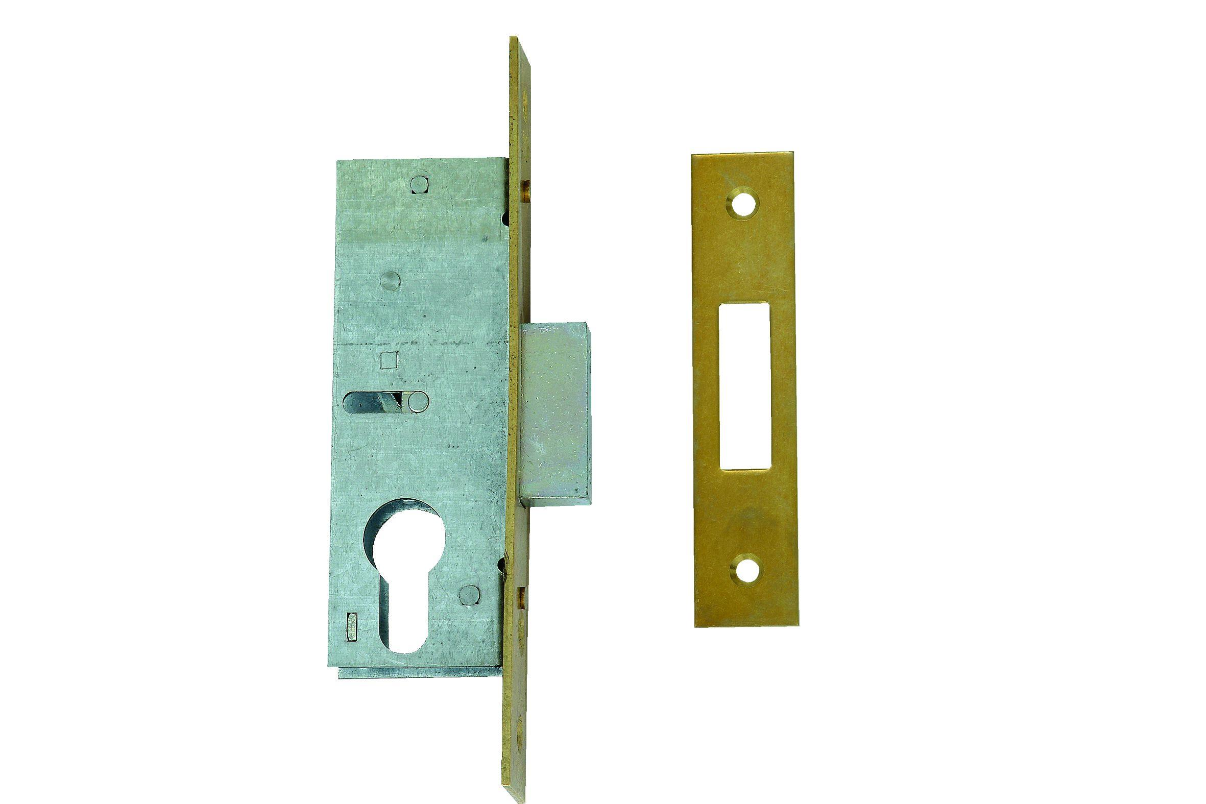 L-21315-40 - Narrow Stile Euro Profile Cylinder Dead Lock Case
