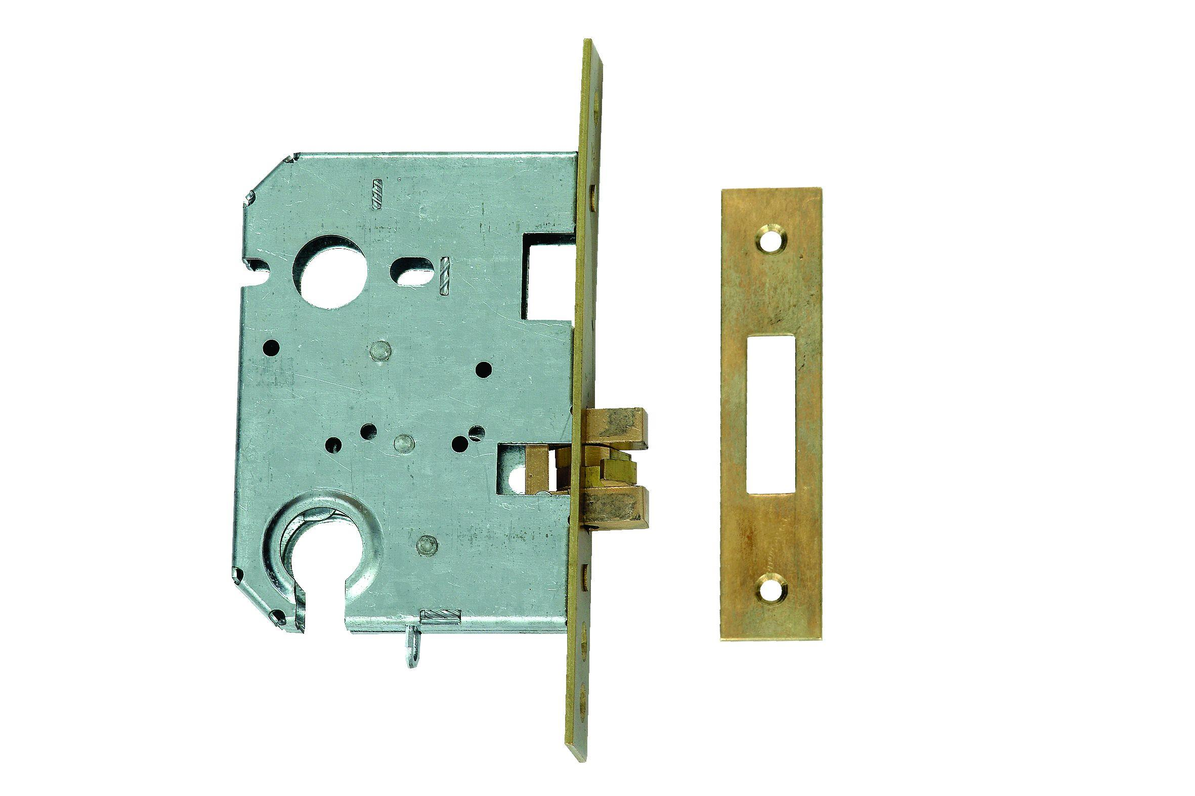 L-24315-76 - Euro Profile Cylinder Claw Bolt Sliding Door Lock