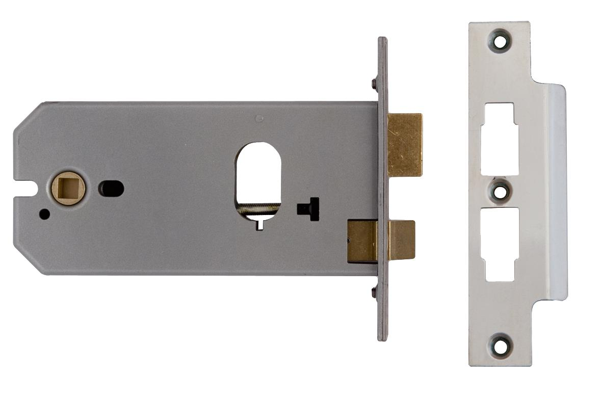 L-2041-152 - Oval Profile Horizontal Mortice Lock