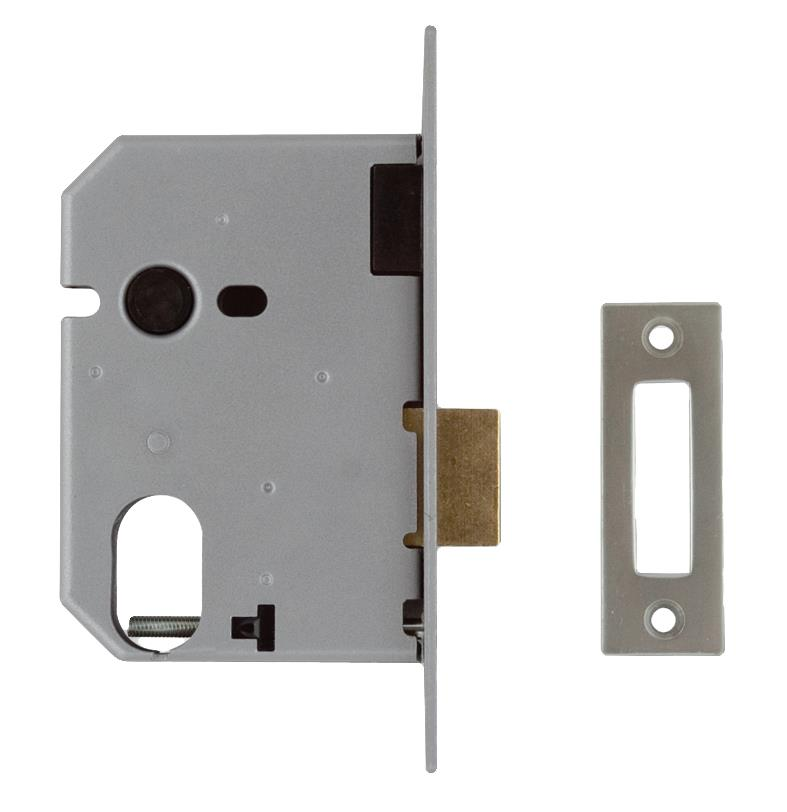 2141 / L2141 - Oval Profile Mortice Deadlock