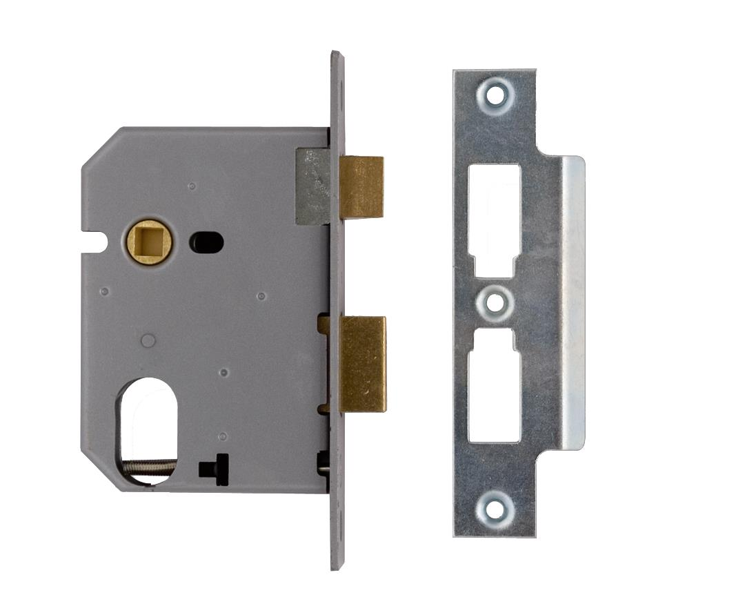 L-2241-103 - Oval Profile Mortice Sash Lock