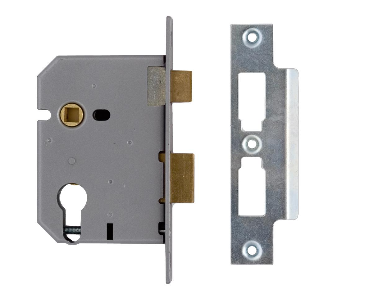 L-2209-78 - Euro Profile Mortice Sash Lock