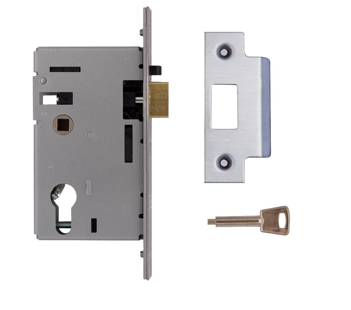 L-2349-78 - Euro Profile Mortice Night Latch