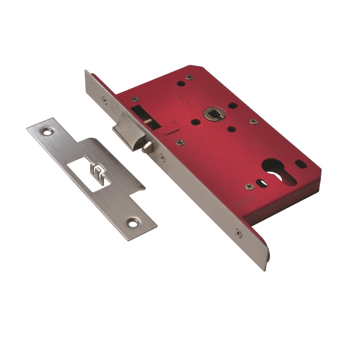 2E25 - Euro Profile Deadlocking Nightlatch