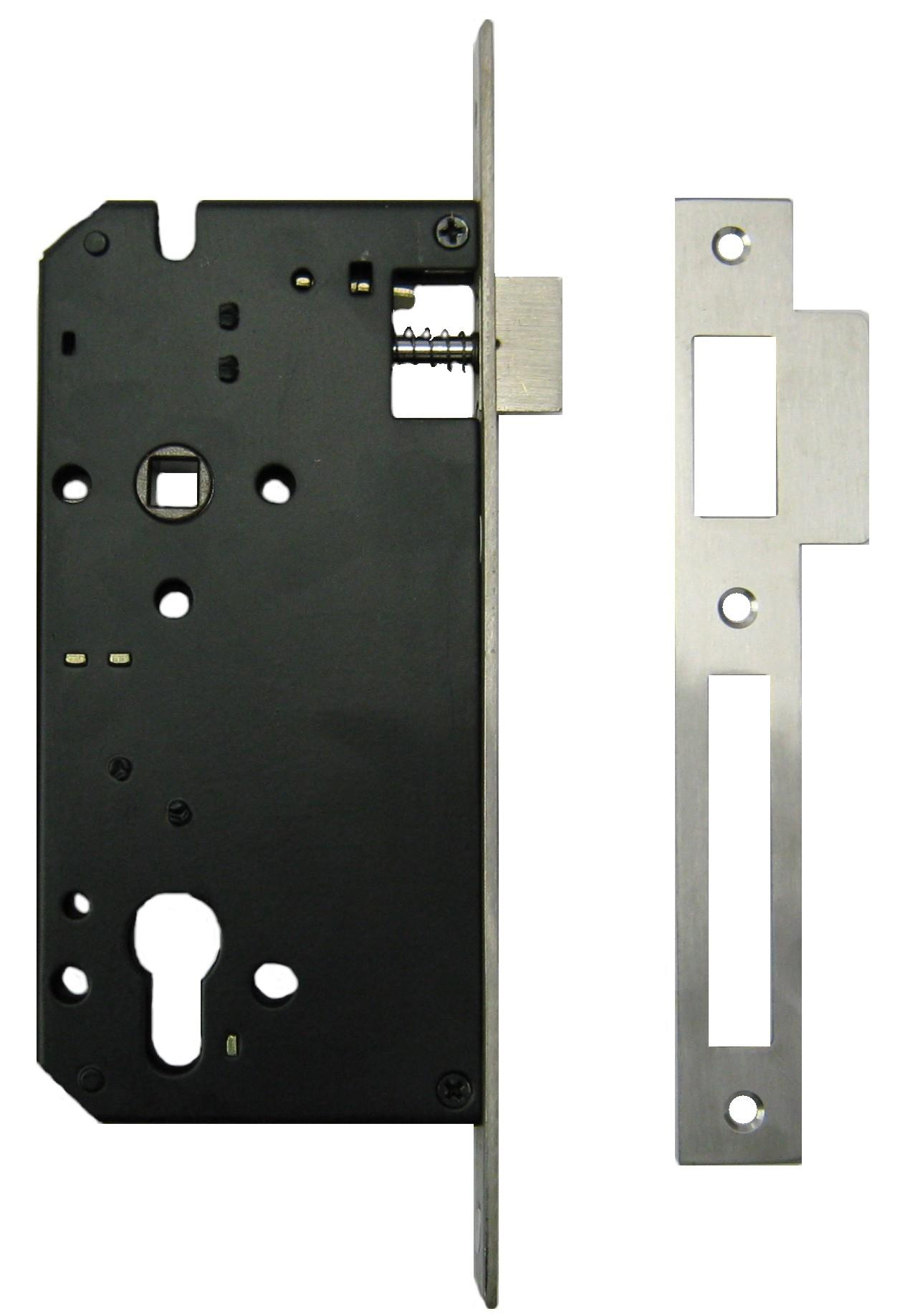Q(R)60x85NM - Upright Euro Profile Lock Case with Double Throw Dead Bolt