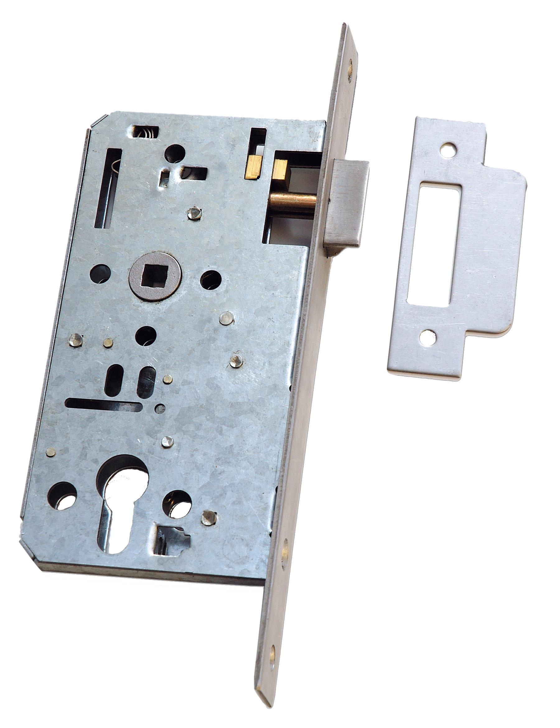 906NL - Euro Profile Mortice Night Latch