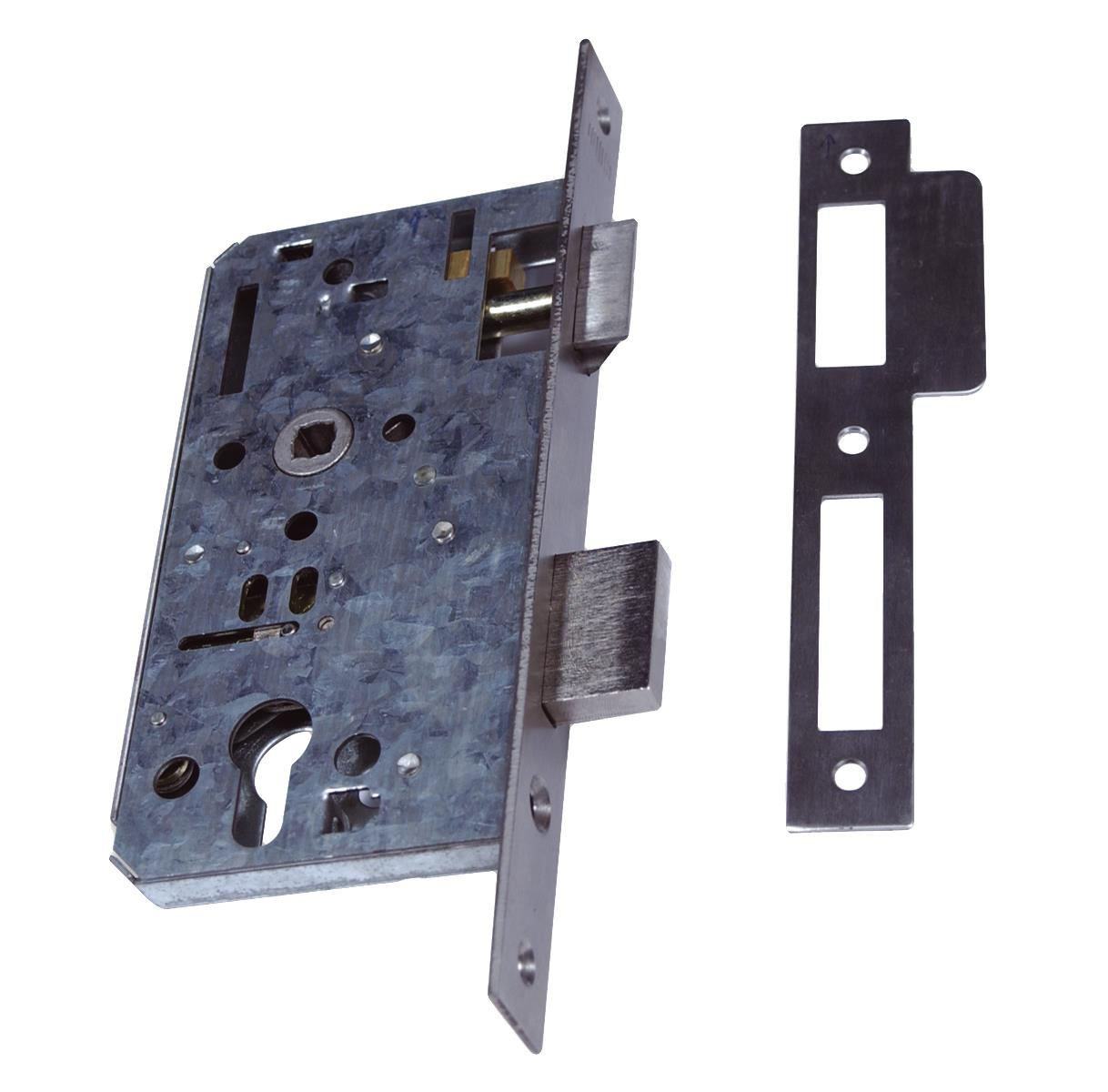 906PZ - Euro Profile Mortice Lock