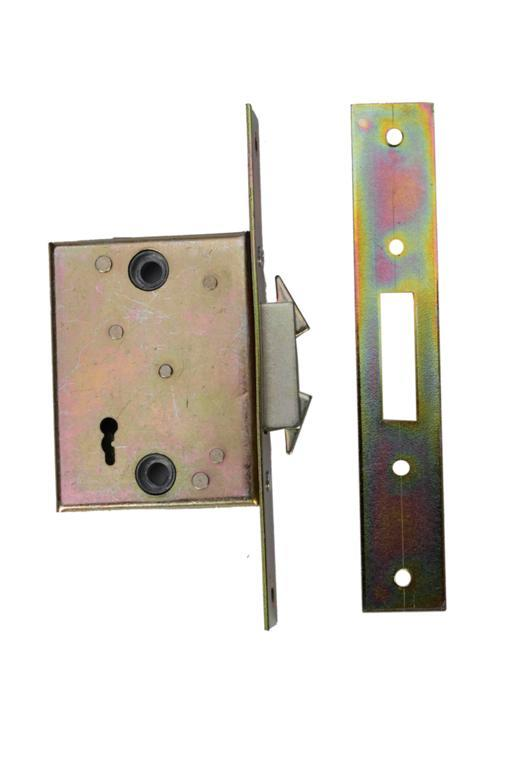 N201-1 (LH4100+) - 201 Series 5 Lever Expanding Security Gate Lock with Faceplate