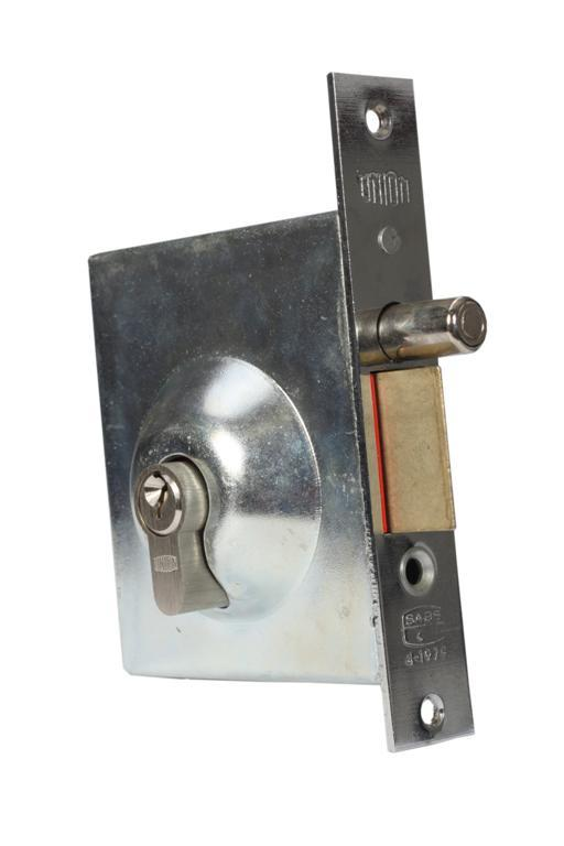 N888 (LH8881 / LH8882) - Latch & Deadbolt Lock for Steel Security Swing Gate