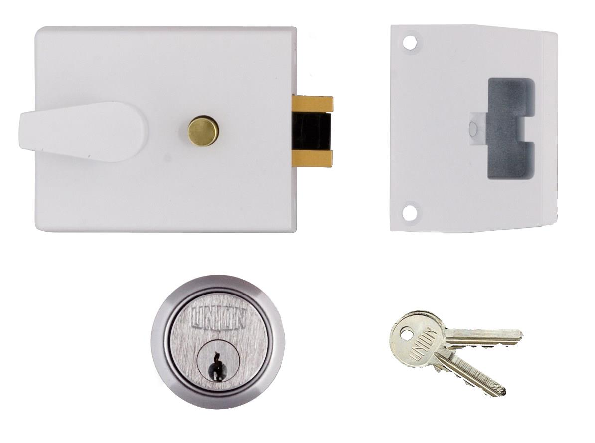 1038 / L1038 - Standard Stile Cylinder Night Latch