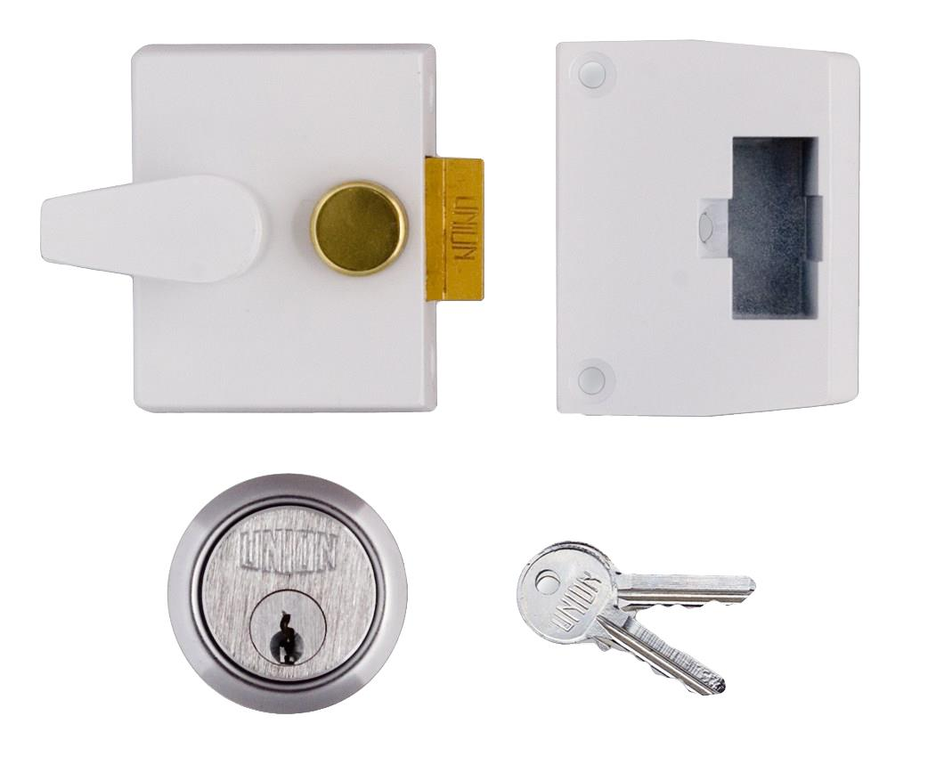 1047 / L1047 - Narrow Stile Cylinder Night Latch