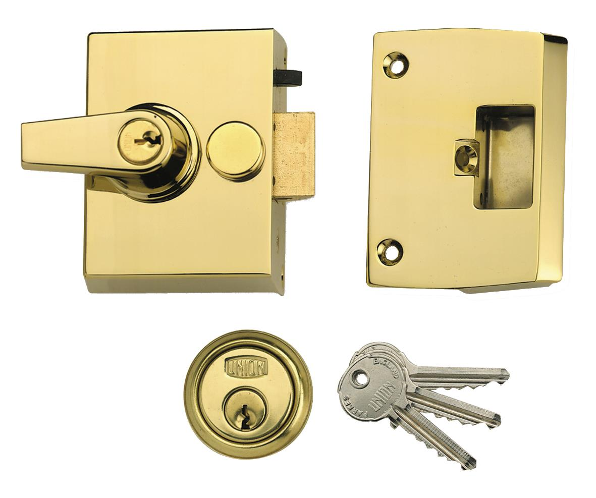 1097 - Narrow Stile Cylinder Night Latch
