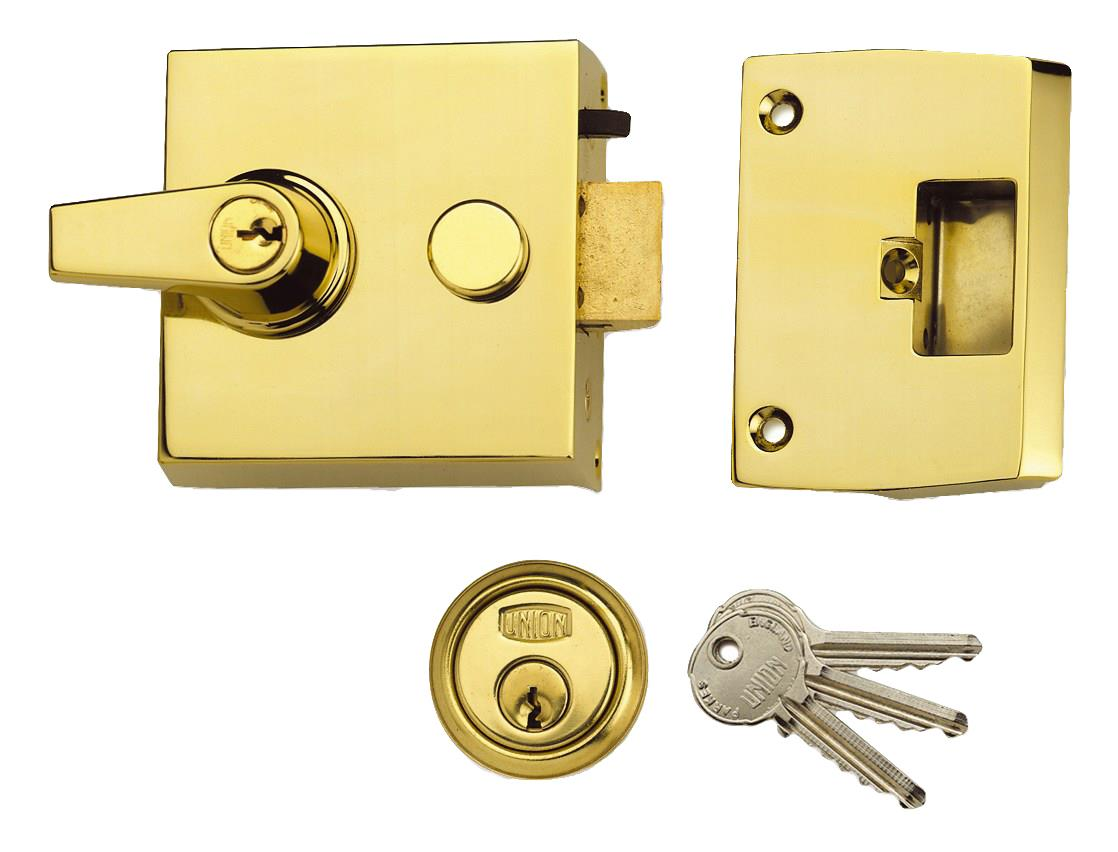 1098 - Standard Stile Cylinder Night Latch